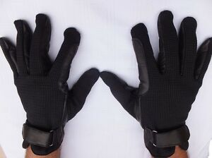 """""""OZ LANTIC"""" HORSE RIDING GLOVES, SOFT LEATHER PALM  EXTRA COMFORTABLE GRIP"""