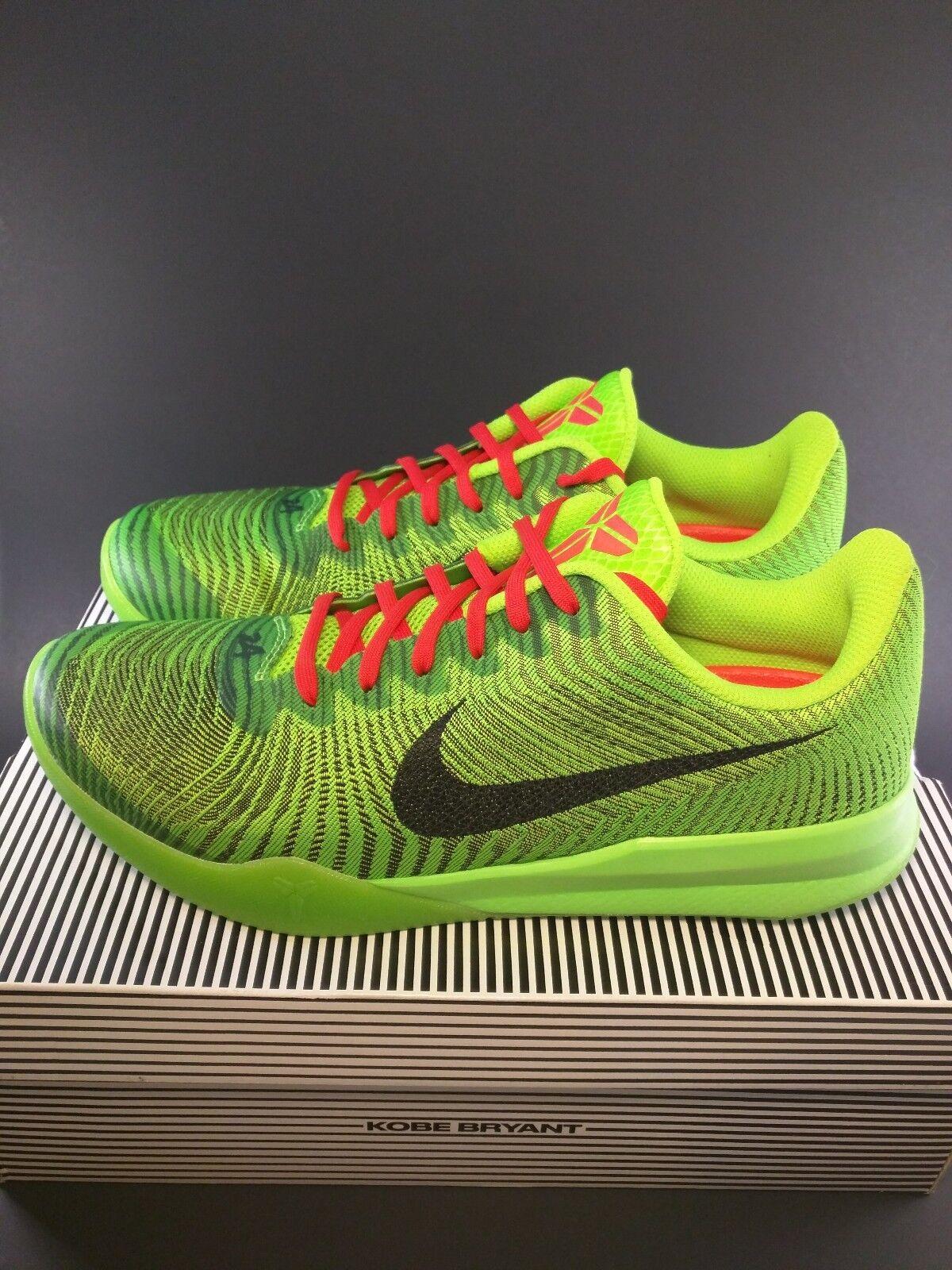 Nike kobe Uomotalit (818952-300] ii grinch electric verde natale mamba (818952-300] Uomotalit sz 10 f394b8
