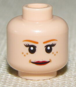 LEGO-DUAL-SIDED-FLESH-COLORED-GIRL-FEMALE-MINIFIGURE-HEAD-SMILE-FROM-PEPPER-POTS