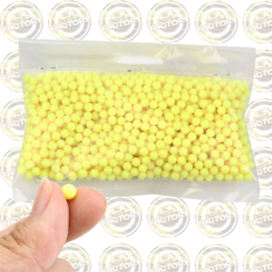 1000PCS-Yellow-Hard-Airsoft-Pellets-BB-Strikeball-0-12g-6mm-Tactical-BB-Balls