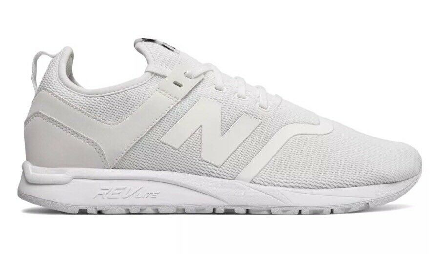 New Balance 247 Lifestyle Sneakers Men's Size 12 Decon White MRL247DD NEW