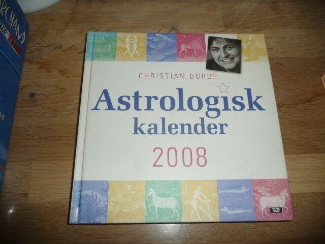 Astrologisk kalender 2008, Christian Borup, emne: