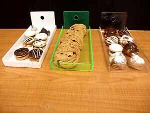 DS-4-Acrylic-trays-bread-Donut-Bagels-Cookie-CUPCAKE-Pastry-Bakery-Display