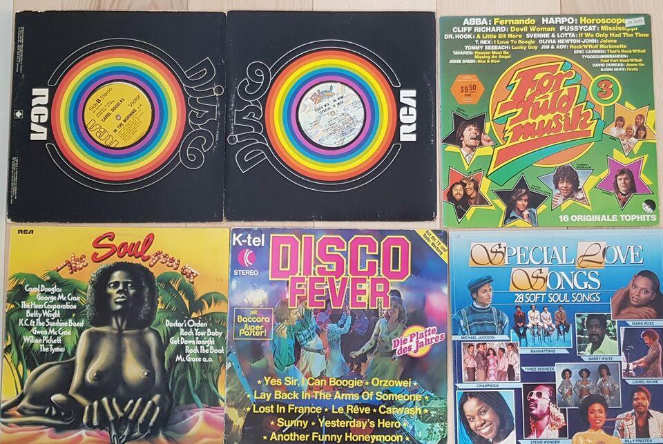 LP, Flere kunstner, 42 LP'er