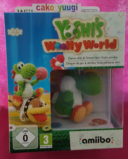 YOSHI'S WOOLLY WORLD EDITION LIMITEE NINTENDO WII U NEUF