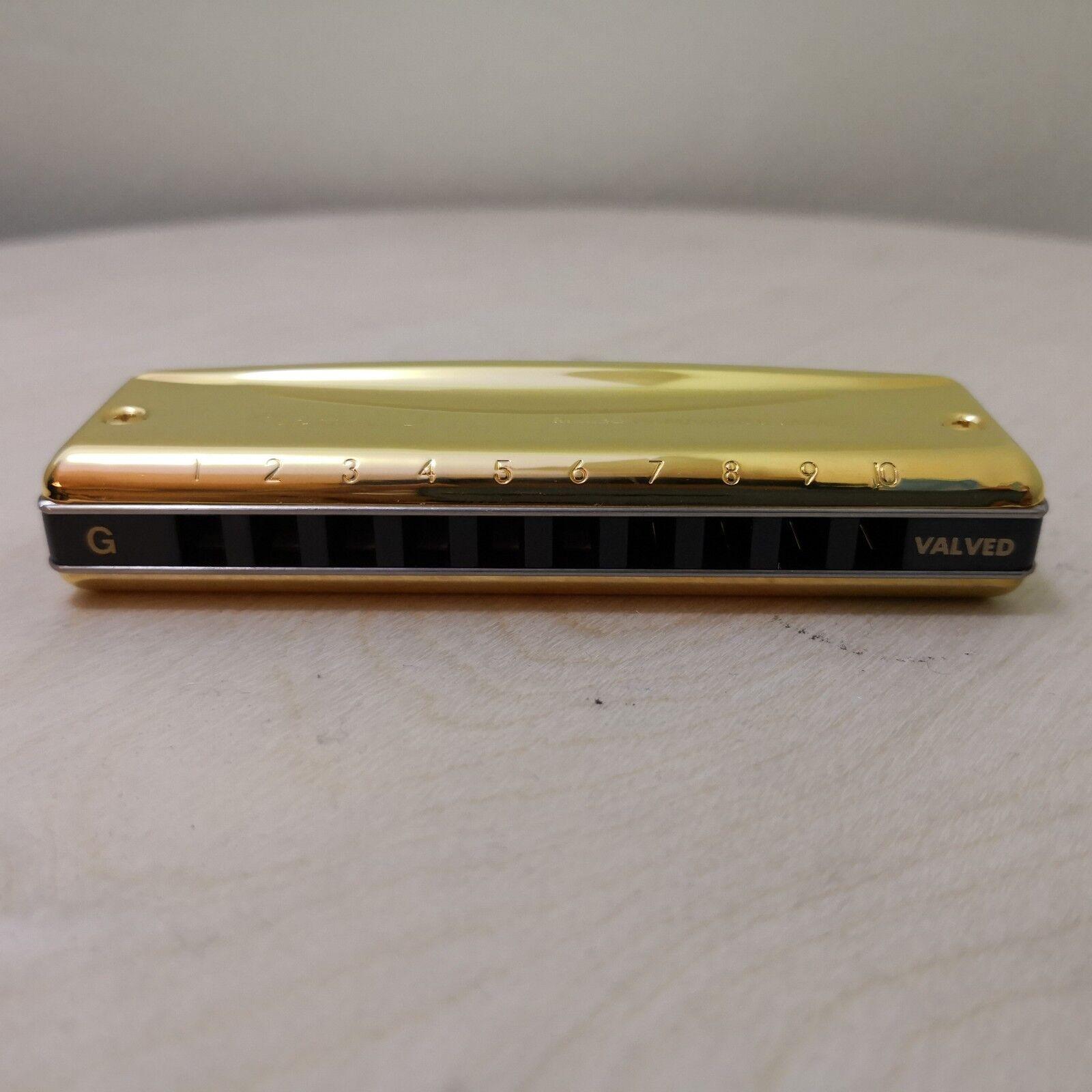 Suzuki Harmonica MR-350 GV oro Valved Promaster - G - - - 18 Karat oro - NEW  63c1f5
