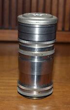 Vintage Enna Werk Munchen 100mm f4.5 Tele-Sandmar Lens Nr.0089, for Argus C2, C3