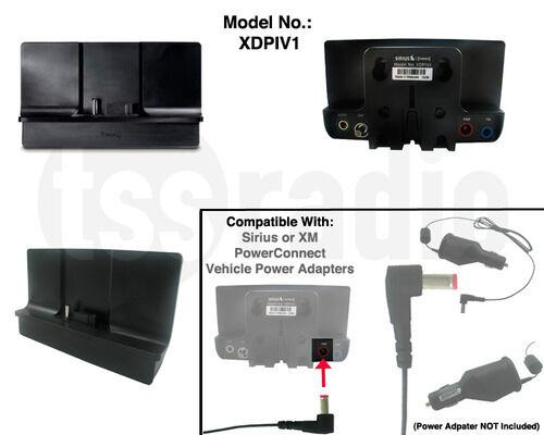 XM ONYX and Onyx EZ RADIO POWER CONNECT CRADLE /& Adhesive Dash Mount W//SCREWS