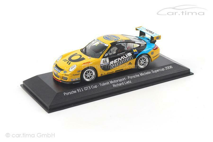PORSCHE 911 (997) gt3 Cup-Supercoppa 2006-Richard Lietz - 1 of 500-Minichamp
