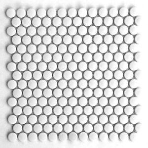 Penny-Round-White-Porcelain-3-4-034-Mosaic-Tile-Wall-And-Floor-Backsplash-Kitchen