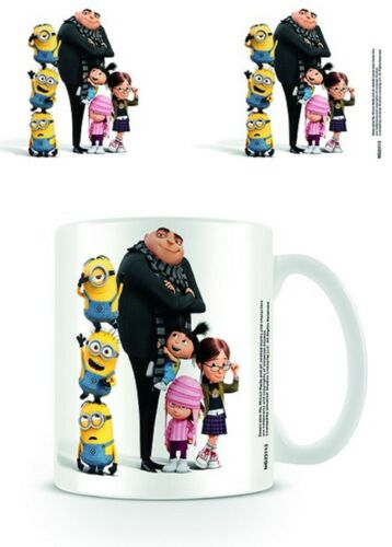 Official Minions Mug Despicable Me Minion With Gru Kids Boxed Ceramic Cup Gift
