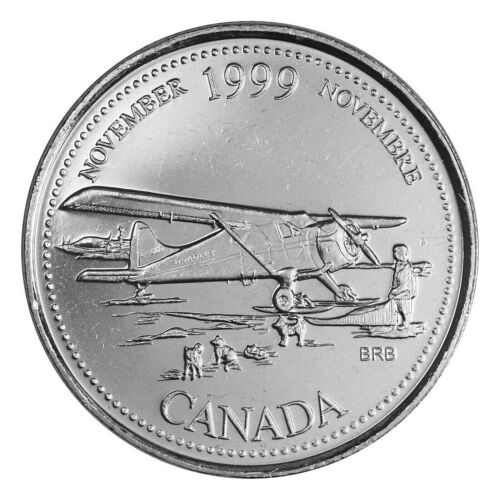CANADA 25 Cents Coins Flanders Field Stanley Cup Olympics Quarters