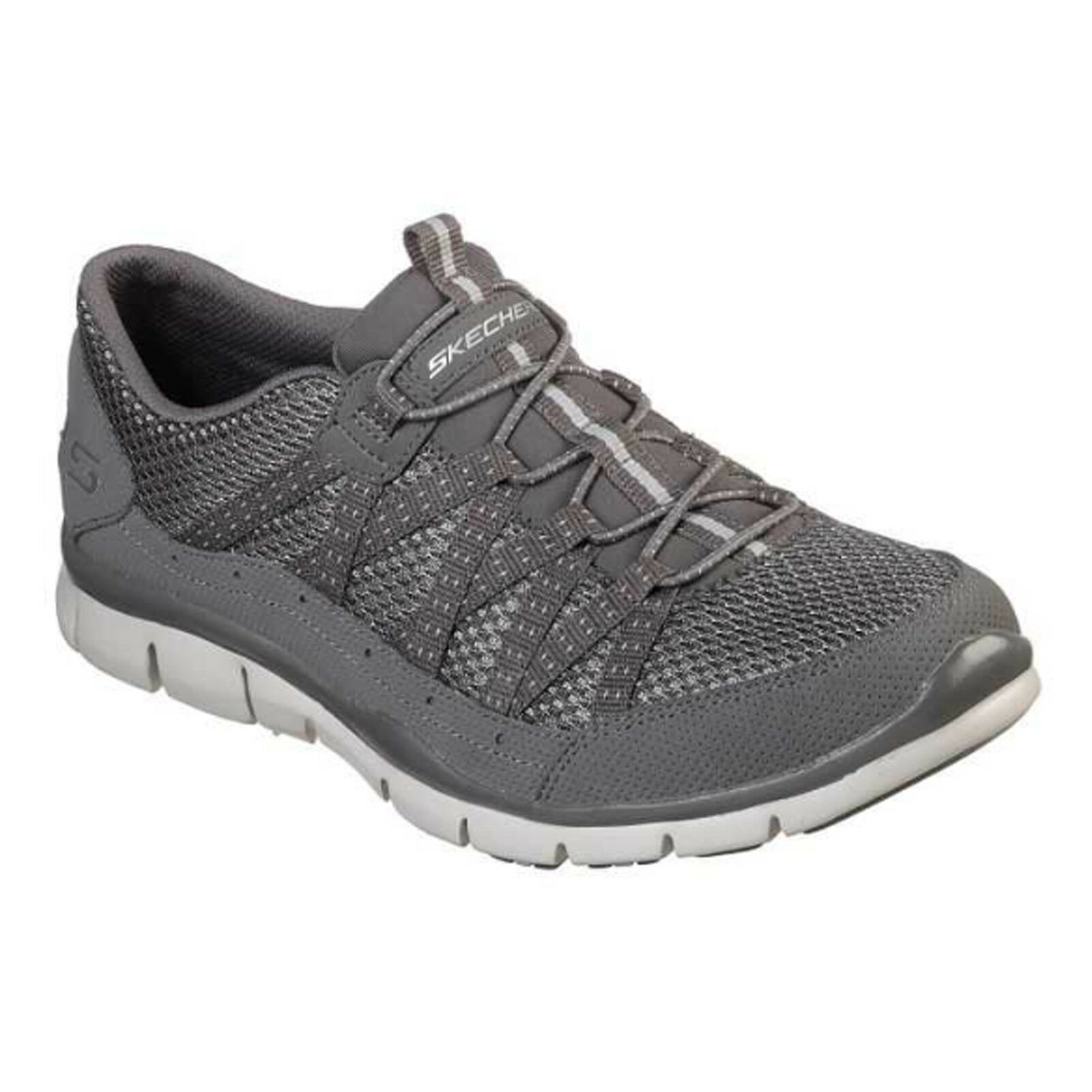 Skechers Gratis - Strolling Trainers Womens Faux Leather Elastic shoes 22823