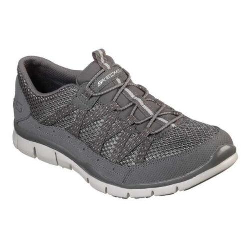 Skechers Gratis-Promenade Baskets femme en cuir synthétique élastique Chaussures 22823