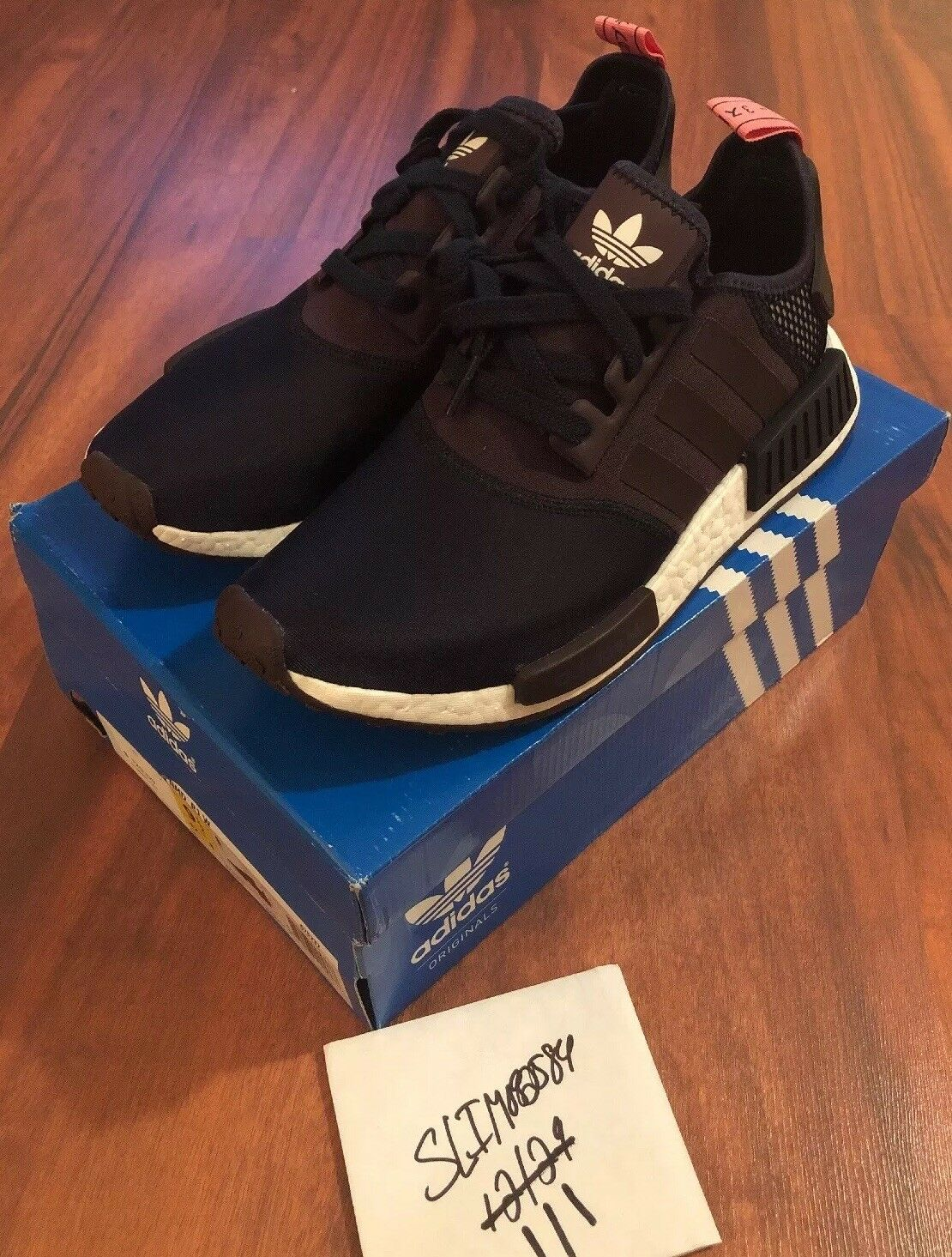Nmd R1 W Size 11 S75232 Mineral Red