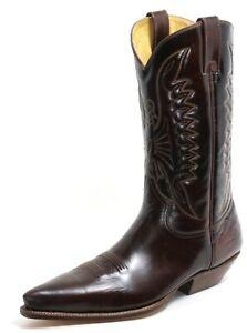 121 Westernstiefel Bottes de Cowboy Line Dance Catalan Style Cuir 34035 Buffalo