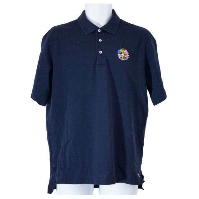 Mens Ralph Lauren Polo Golf 2006 Ryder Cup Navy Short Sleeve Polo Shirt Size M