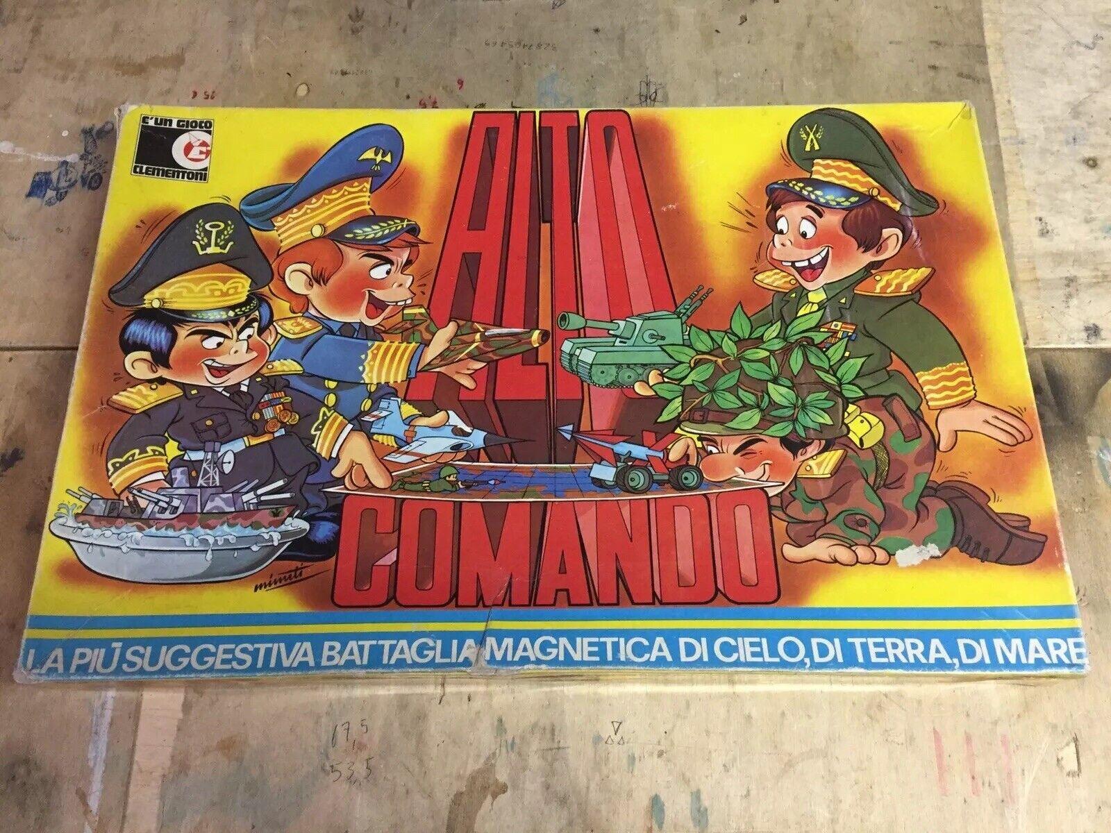 Alto Couomodo Clementoni COMPLETO Gioco Da Tavolo  Vintage  spedizione veloce e miglior servizio