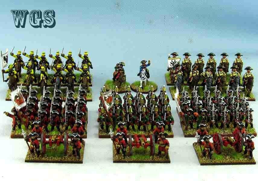 15mm manera Seven Years War Syw Pintado Rusia batallón raa