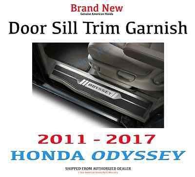 Genuine OEM Honda Odyssey Door Sill Trim Garnish  2011-2017      08F05-TK8-100