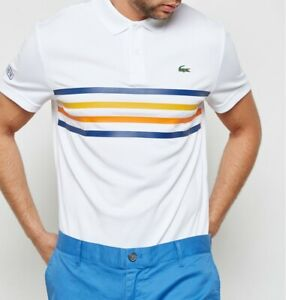 053c49ff8 LACOSTE SPORT POLO SHIRT BNWT - ALL SIZES - WHITE - ULTRA DRY ...