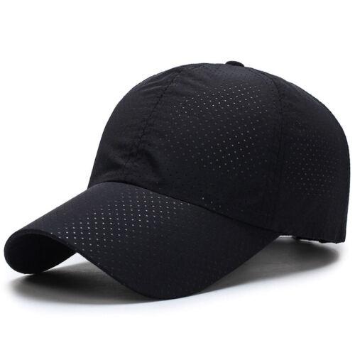 Camping Baseballmütze Hut Kopfbedeckung Wandern Sonnenschutz Casual Neu