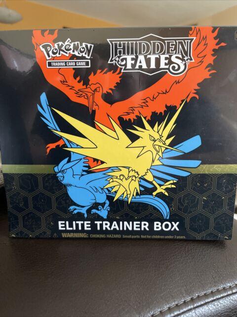 Hidden Fates Elite Trainer Box ETB Pokemon TCG NEW FACTORY SEALED 🔥📈🔥