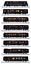 Kato-10-1519-Seven-Stars-in-Kyushu-Cruise-Train-8-Cars-N miniature 6