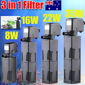 ECO-3-in-1-Fish-Tank-Aquarium-Submersible-Water-Power-Filter-Pump-600-1600L-H