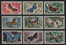 Libanon 1965 - Mi-Nr. Lot ex 900-909 ** - MNH - Schmetterlinge / Butterflies (1)