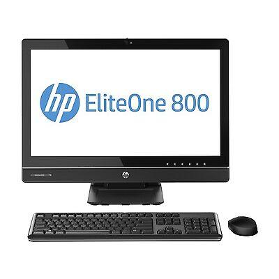 "HP EliteOne 800 G1 23"" All In One Desktop PC Intel Core i5 500GB 8GB Windows 7"