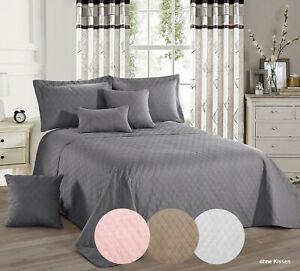 Tagesdecke-Bettueberwurf-Sofadecke-PREMIUM-220x240-cm-weiss-rosa-grau-braun
