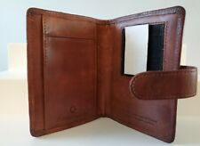 Pocket Size Full Grain Leather Franklin Covey Planner Unstructured Cover Norings