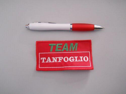 8-10 15-19 cm Possible Choices Emblem Patch Team Tanfoglio 6-7