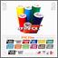 9pcs-kit-ADESIVI-compatibile-con-YAMAHA-XT-660-1200-Z-TMAX-TDM-XV-YS-WR-Majesty miniature 3