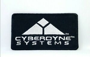 Terminator Movies Cyberdyne Systems Logo Embroidered Iron Sew On Patch j295