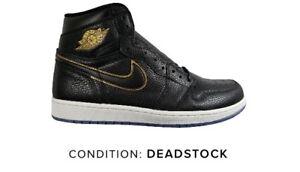 0117186250d82e Air Jordan 1 I Retro High OG ASG Black Gold 555088-031 US 7 LA All ...