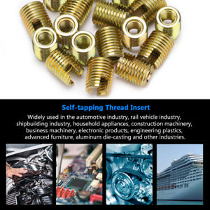 20Pcs-302-Stainless-Carbon-Steel-Self-tapping-Thread-Insert-Repair-Accessories