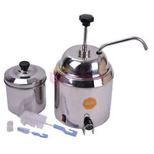 38l Hot Nacho Fudge Chocolate Cheese Heating Machine Dispenser Warmer 500w