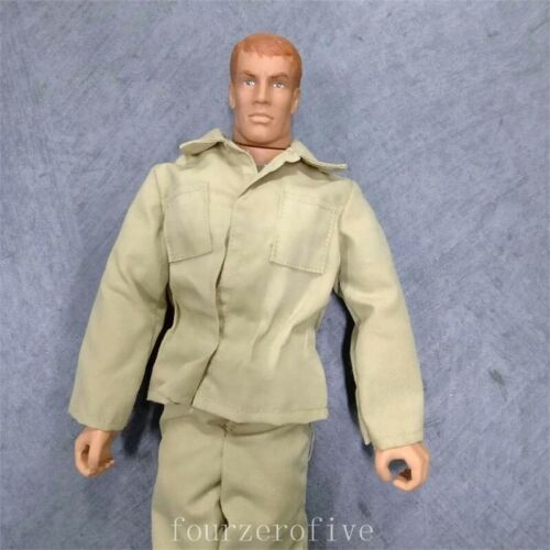 "12/"" Hasbro Gi Joe Brown Hair Loosen Action Figures 1:6 21st Century Boy Toys"