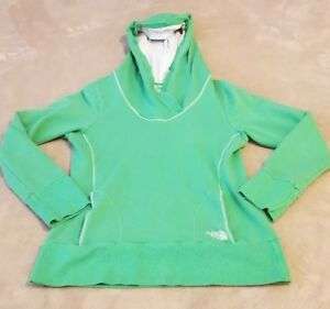 49c9c6fed Details about The North Face womens hooded sweatshirt hoodie Extra Small  green XS