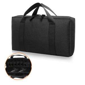 Tactical-Pistol-Gun-Bag-Case-Magazine-Pouch-Carrier-Handgun-Holster-Padded-Case