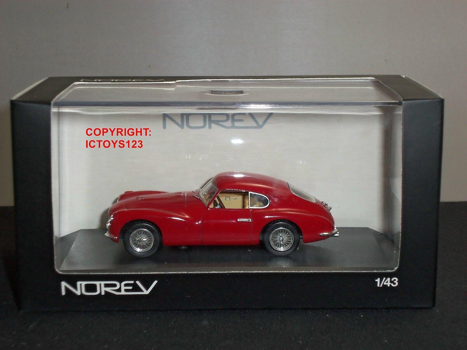 NOREV 778001 FIAT 8V RED DIECAST MODEL CAR