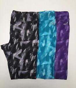 BCG-Ladies-Athletic-Printed-Performance-Poly-Spandex-Yoga-GYM-Running-Pants-NWT