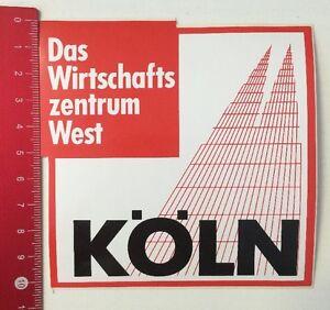 Details Zu Aufklebersticker Köln Das Wirtschaftszentrum West 230316175