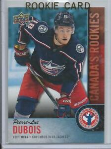 Ebay Canada Carte Hockey.Details About 2017 18 Upper Deck Ud Pierre Luc Dubois Rookie Card Rc 4 National Hockey Day