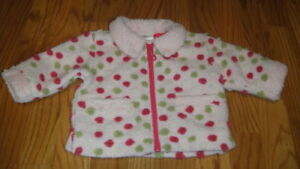 Clothing, Shoes & Accessories Buy Cheap Hanna Andersson 60 Pink Polka Dot Jacket Coat
