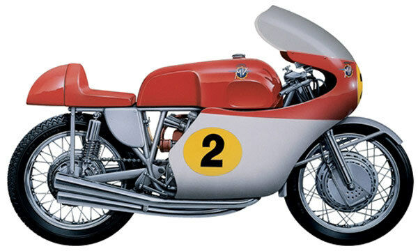 Italeri MV Agusta 500 cc 4 Cylinders 1964 1 9th Scale Plastic Model Kit