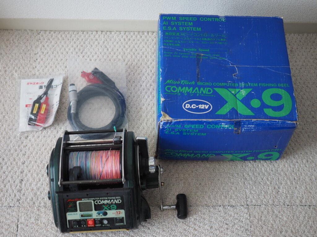 Miya Epoch Command X-9 Big Game Electric Reel