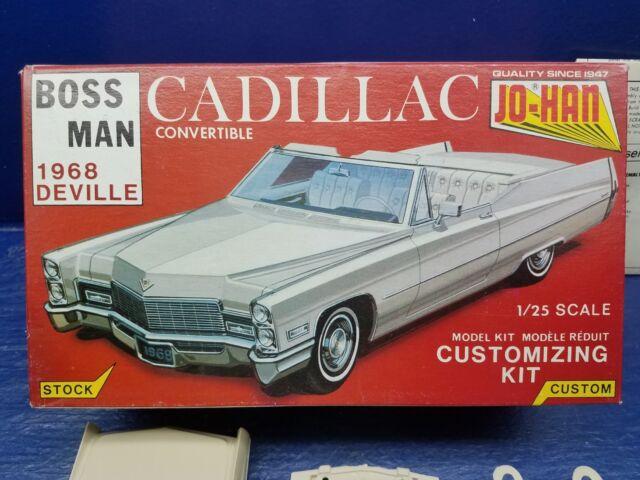 buy jo-han boss man 1968 cadillac deville convertible 1/25 scale